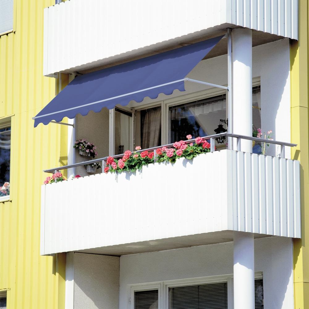 Montera markis balkong